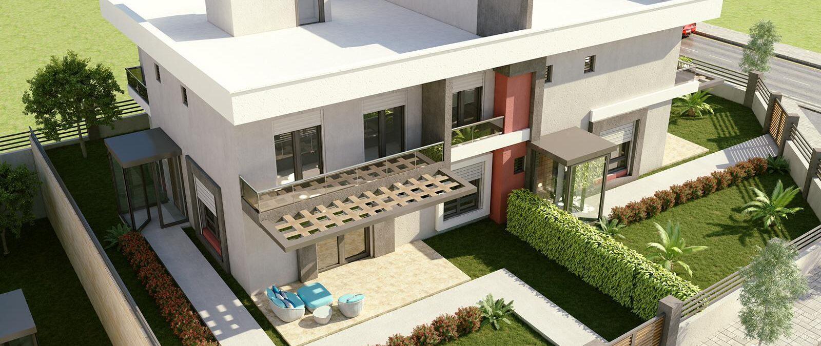 3 Boyutlu Mimari Ev Tasarımları